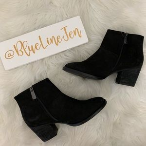 Nelly Suede Waterproof Ankle Boots NWOT